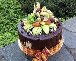 Ovocné torty Salty Cake, Oreo Cheesecake, Oreos, Pavlova, Dessert Recipes, Desserts, Celebration Cakes, Chocolate Cake, Tiramisu