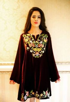 92baa8b424e8a Velvet Dress Designs, Velvet Gown, Velvet Dresses, Latest Design Trends,  Formal Wedding