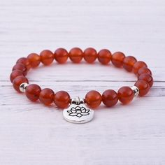 """Gemstones: Grade """"A"""" Red Agate Stone Size: 8 mm Mala Length: 35 inches & inches This bundle features: Red Agate Root Chakra Mala Red Agate Root Chakra Bracelet Anxiety And Anger, Get Rid Of Anxiety, Root Chakra Stones, Building Self Confidence, Red Agate, Chakra Bracelet, Agate Stone, Bracelet Sizes, Beaded Bracelets"""