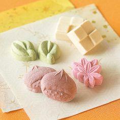 和三盆 秋 - Japanese sweets