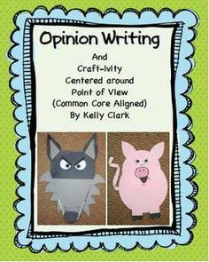 Opinion Writing Craft-ivity (Common Core Aligned)
