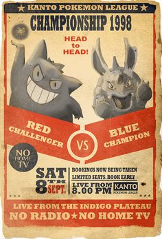 pokemon vintage posters
