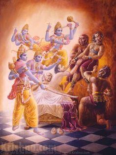 Srimad Bhagavatam Audio Lectures: Canto 6 Chapter 1 – The Hare Krishna Revolution Radha Krishna Images, Lord Krishna Images, Krishna Pictures, Krishna Radha, Hanuman, Hare Krishna, Krishna Lila, Shiva Art, Hindu Art