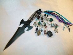 Hades Embellished Athame Several blade style & sizes available