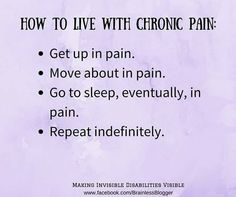 Living With Chronic Pain! Live your Truth, Thrive, Learn, Survive, Inspire, Love & Laugh often! ~Blessed Be