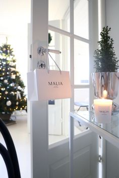 Homevialaura | Malia scented candles Christmas 2019, Xmas, Merry Christmas, Scented Candles, Most Beautiful, Sweet Home, Vanity, Mirror, Furniture