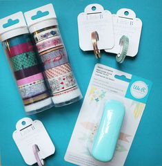 It's giveaway time at Blitsy! Win the Washi Chomper and tons of cute Washi Tape!
