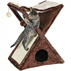 X Marks the Spot Fold-and-Store Cat Tree