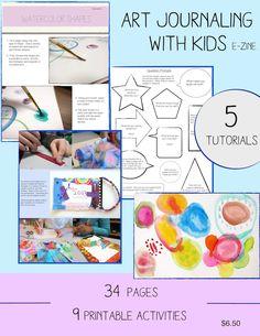 Art Journaling with Kids - Art is Basic