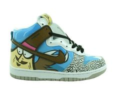 new arrival 092d2 d2216 Nike Dunks Fickr Faces Shoes For Lovers Cheap Rainbow Nikes, Sneakers Nike,  Nike Shoes