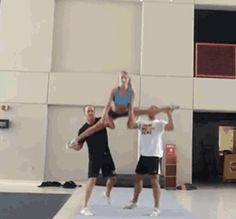 This girl proves that the highest of highs can come after the lowest of lows. | 13 Mighty Spirited Cheer Stunts