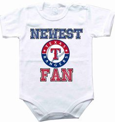 Baby bodysuit Newest fan Texas Rangers baseball MLB One Piece Bodysuit Funny Baby Onesie Child boy girlen's Clothing Kid's Shower boy on Etsy, $10.98