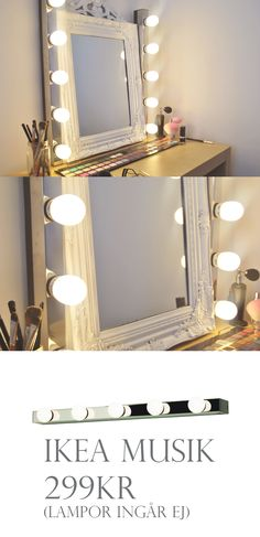 Only 1499 At Ikea Decor Makeup Rooms Home Decor Vanity Room Vanity Room, Diy Vanity, Vanity Ideas, Decoration Inspiration, Room Inspiration, Creative Inspiration, My New Room, My Room, Sala Glam
