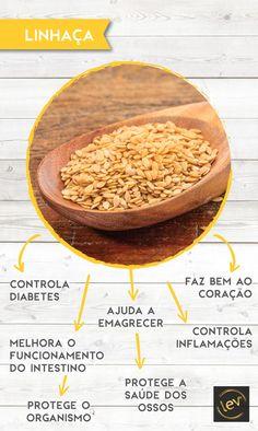 A linhaça é uma semente tem grandes quantidade de ómega 3 e fibras. #linhaca #semente #vidasaudavel #emagrecer