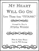 My Heart Will Go On (Love Theme from Titanic) for the Harp (Softcover)