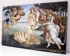 Art history nerd or not, Florence's preserved Renaissance influence is hard not to fall in love with once you experience it. Renaissance Kunst, Renaissance Paintings, Birth Of Venus Botticelli, Venus Painting, Greek Paintings, Mythology Paintings, The Birth Of Venus, Greek Art, Painting Wallpaper