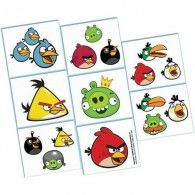 Add some Angry Birds action to your party with these temporary tattos. This package 16 Count Angry Birds Tattoo Favors includes 16 items. King Pig,Helmet Pigs,Mustache Pigs and Small Pig. Bird Birthday Parties, Birthday Favors, Boy Birthday, Party Favors, Birthday Ideas, Tattoos For Kids, Fake Tattoos, Temporary Tattoos, Bird Tattoos