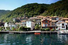 Ronco di Pella -  little village on Lake Orta. It's a very romantic place.