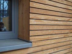 18 New Ideas exterior cladding facades wood siding Wood Cladding Exterior, Rainscreen Cladding, Larch Cladding, Wood Facade, House Cladding, Wood Siding, Wood Paneling, Cladding Ideas, Exterior Shutters