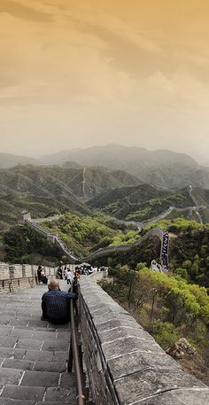 The Great Wall of China.. Seen it in 2005.. Wanna see it again in the spring/summer time!