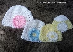 FREE crochet pattern for a Beanie by ShiFio's Patterns.