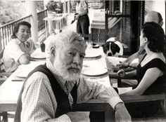 """""""Happiness in intelligent people is the rarest thing I know."""" Ernest Hemingway"""