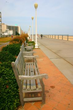 Virginia Beach Boardwalk::A lot of money has gone into revamping the boardwalk area to keep tourists coming. It has changed completely since I grew up and lived here in the late 60s through mid 80s.