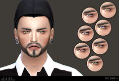 Unisex Hide Eyes.   Found under the Face Paint Category.   Custom CAS image.   7 Colours.   - Please ask for permission before editing or re-distributing.   - Don't re-upload.   - Link to this post not directly to the download file.   Happy Simming!   -DOWNLOAD-