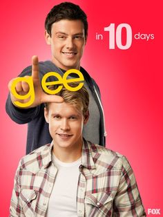 TEN DAYS AWAY!! LOL, love Cory's expression. XD