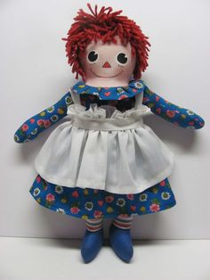 Handmade Baby Raggedy Ann Molly-'es Style  Created by Joan Oest.