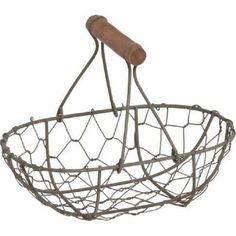 Drahtkorb oval mit Holzbügel Decorative Bowls, Ceiling Lights, Home Decor, Metal, Homes, Room Decor, Ceiling Lamp, Home Interior Design, Ceiling Lighting
