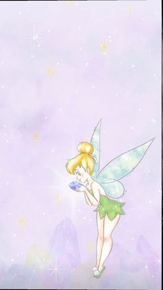 Tinkerbell, Disney Characters, Fictional Characters, Disney Princess, Art, Art Background, Kunst, Tinker Bell, Performing Arts