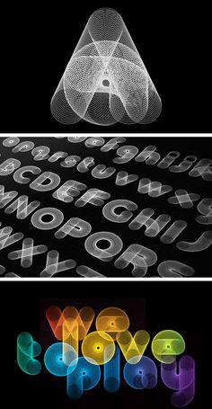 100 Magnifiques visuels de typographie