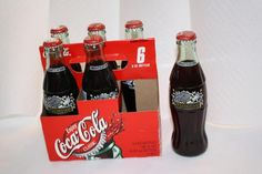 Coca Cola 6 pack Class of 2002 FULL $15 Bottles For Sale, Coke, Coca Cola, Appreciation, Canning, Random, Collection, Home Canning, Cola