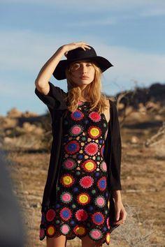 coachella crochet dress (H&M)