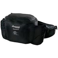 Trillemarka 6 Liter Hip Pack Hofteveske BLACK