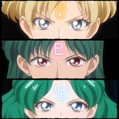 Outer Senshi symbol by SM Crystal III