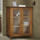 "possible cabinet for bathroom  Found it at Wayfair - Avery 26"" x 34"" Free Standing Cabinet"