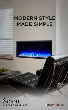 SimpliFire Scion Electric Fireplaces are an innovative product from Heat & Glo. Orange Bedding, Green Bedding, Pink Bedding, Linear Fireplace, Fireplace Inserts, Contemporary Fireplaces, Gas Insert, Heat Fan, Electric Fireplace Insert
