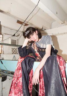 Middlesex University graduate Charlotte Roden is the post-punk fanatic bringing fluidity back to menswear. Post Punk, Screen Shot, Charlotte, Menswear, Inspiration, Fashion, Biblical Inspiration, Moda, Fashion Styles