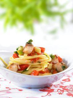 Tomaten-Rotbarsch-Ragout - Pasta mit Fisch - 26 - [ESSEN & TRINKEN]