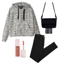 """Boyish"" by sheinadieva on Polyvore featuring Monki, Zara, Yves Saint Laurent and Puma"