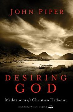 Desiring God by John Piper... a graduation present from the best friend. can't wait to dig in to this book.