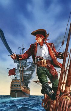 Phantom Canvas - The Red Pirate by Zoltan Boros & Gabor Szikszai
