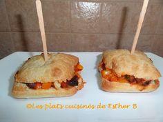 Les plats cuisinés de Esther B: Pizza-pochette