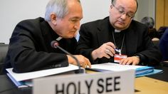 UN panel confronts Vatican on child sex abuse by clergy. http://www.bbc.co.uk/news/world-europe-25748952