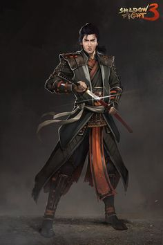 Epic Characters, Dungeons And Dragons Characters, Fantasy Characters, Character Creation, Game Character, Character Design, Shadow Fight 3, Dynasty Warriors, L5r