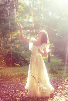 Romantic beauty.