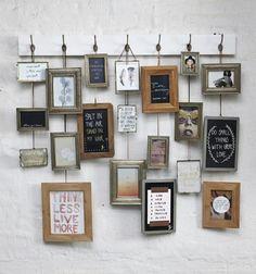 Individuelle Fotos mit Rahmen für deine Wand - mal anders!