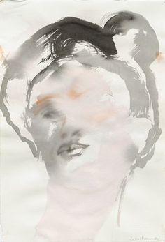 Leiko Ikemura, Face (Frida), 2008